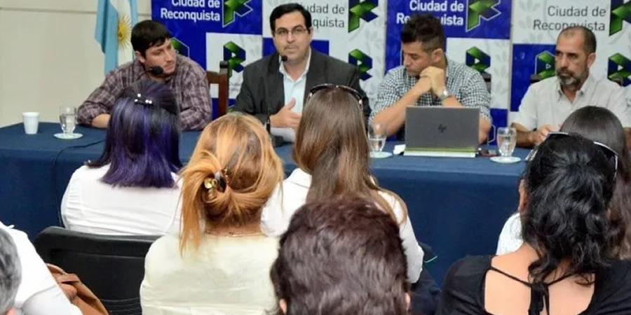 Reconquista: Vallejos anunció beneficios para trabajadores municipales