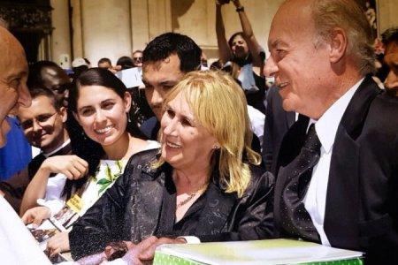 Amado Zorzón dialogó con el Papa Francisco.