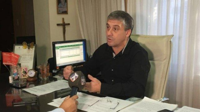 Pedretti, en defensa de los intereses de los vecinos de Roldán.