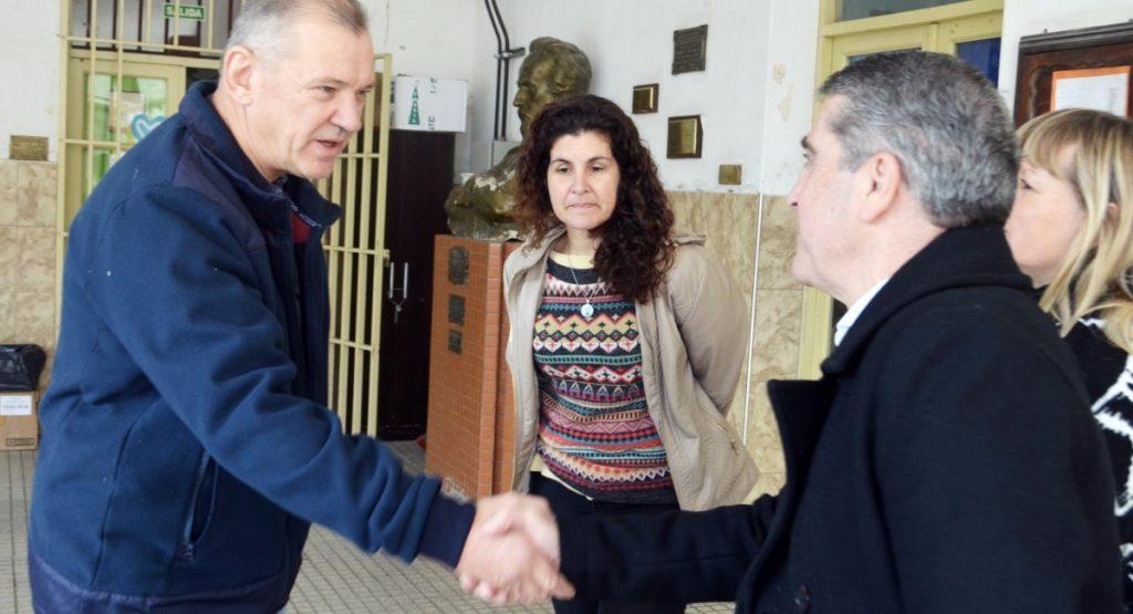 """Traferri: """"Promover mejores espacios educativos es clave"""""""