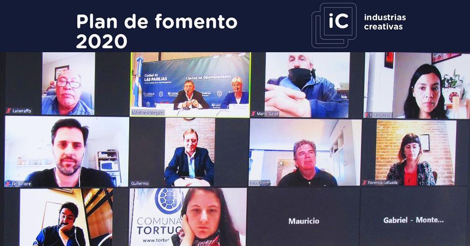 Cornaglia y Llonch presentaron el plan fomento 2020 en el Departamento Belgrano.
