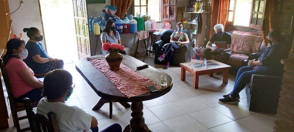 Baucero y Zanazzi se reunieron con vecinos de Colonia Yatay