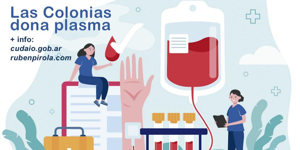 Pirola y más de 20 jefes de gobiernos locales, impulsan Las Colonias dona plasma.