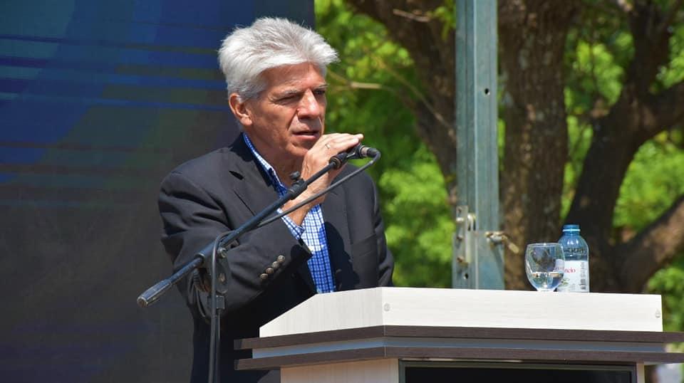 El Senador Baucero participó del acto por los 150 años de Alejandra.