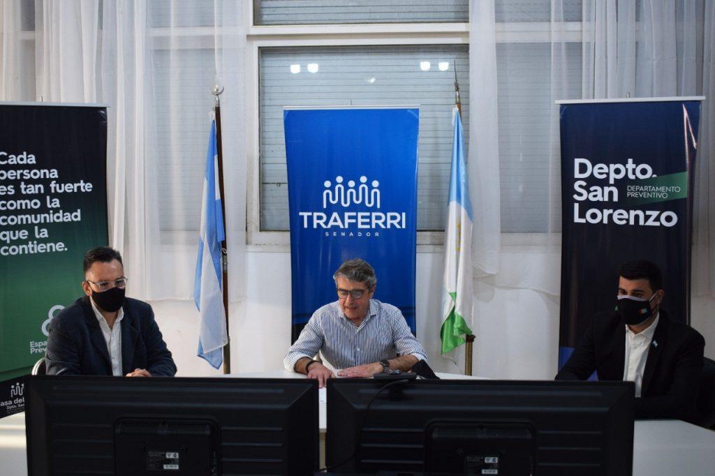 Traferri dio inicio a las capacitaciones virtuales sobre Violencia, Educación Sexual Integral y Consumos Problemáticos