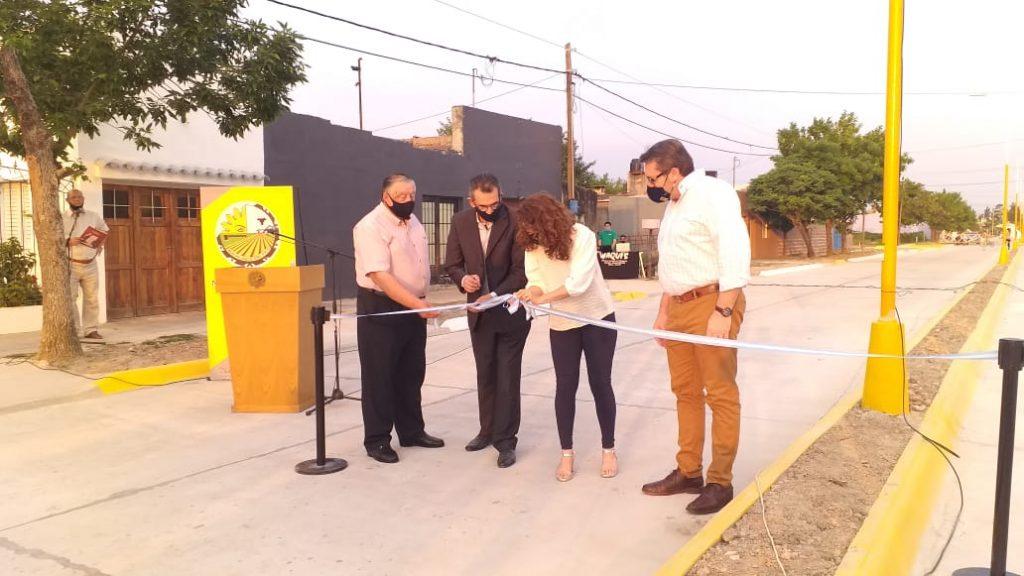 Inauguración Calle Corrientes en Vera