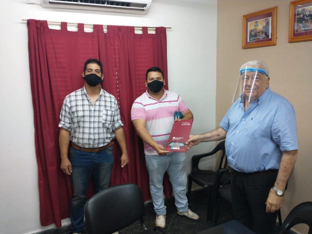 El Senador Sosa, sumando al servicio educativo de El Palmar