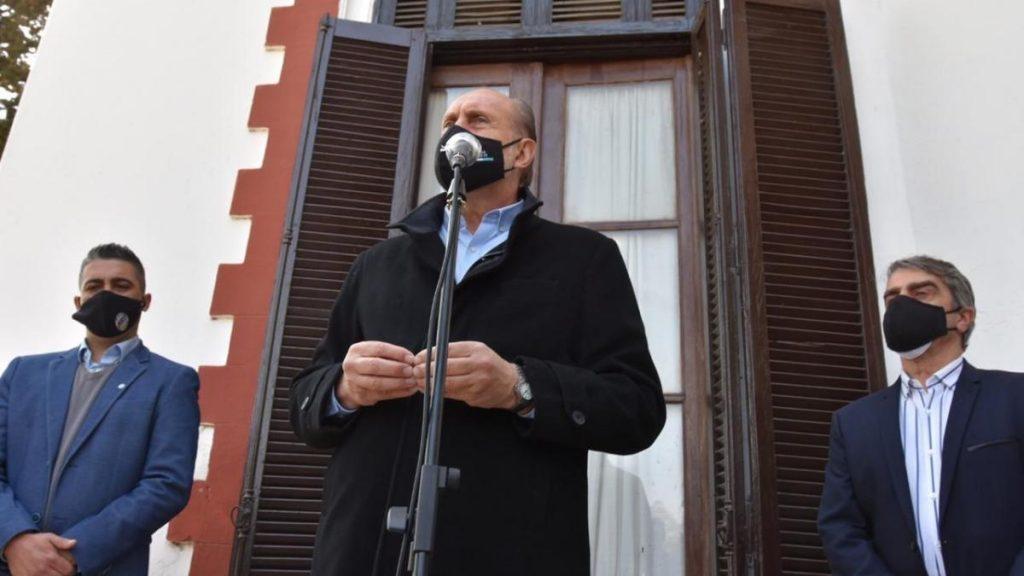 Traferri y Perotti entregaron aportes a tres localidades del Departamento
