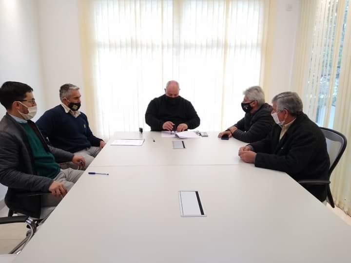José Baucero confirmó que Romang recibió fondos de vialidad para importantes obras.