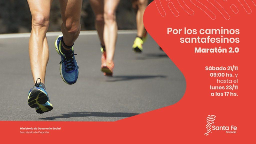 """El Senador Sosa impulsa """"Por Los Caminos Santafesinos, Maratón 2.0"""""""