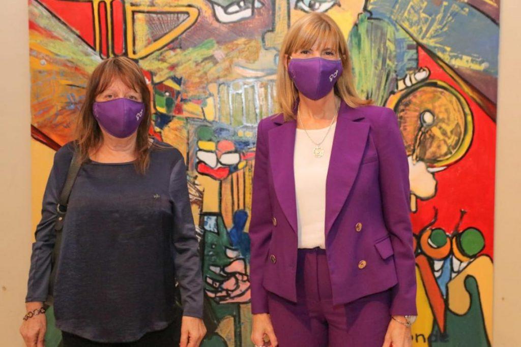 Rodenas recorrió el departamento San Martín con una agenda de género.