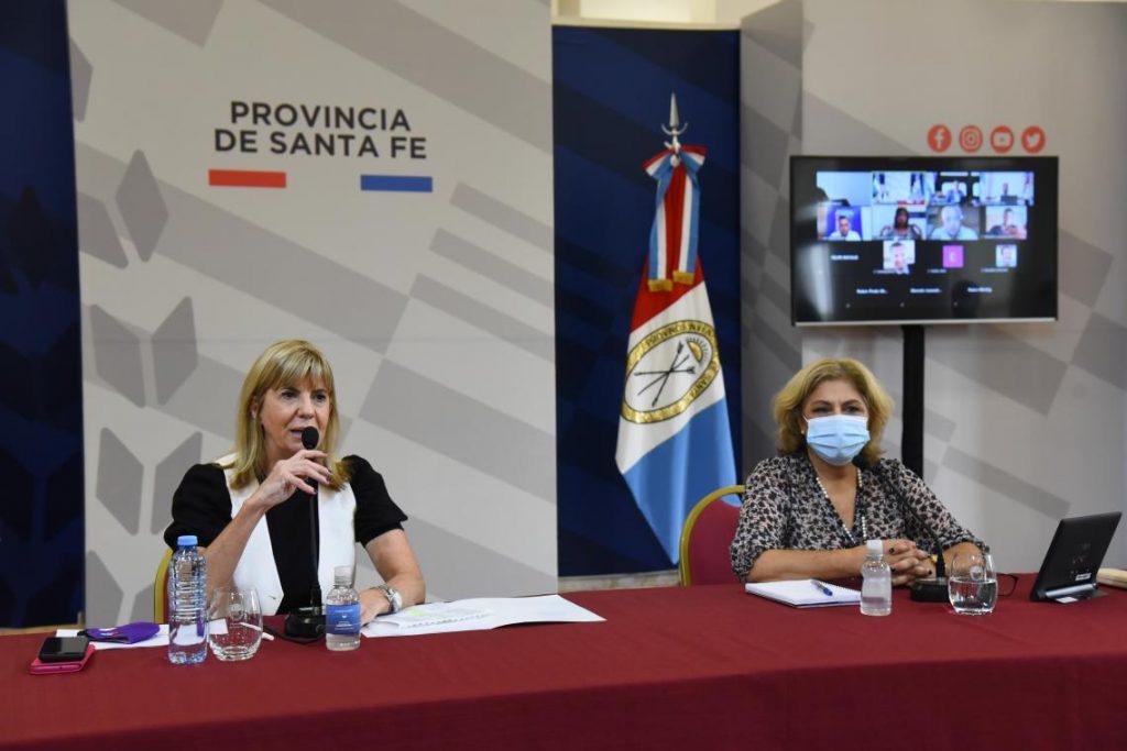 La vicegobernadora, destacó el valor de la información proporcionada por cada departamento,