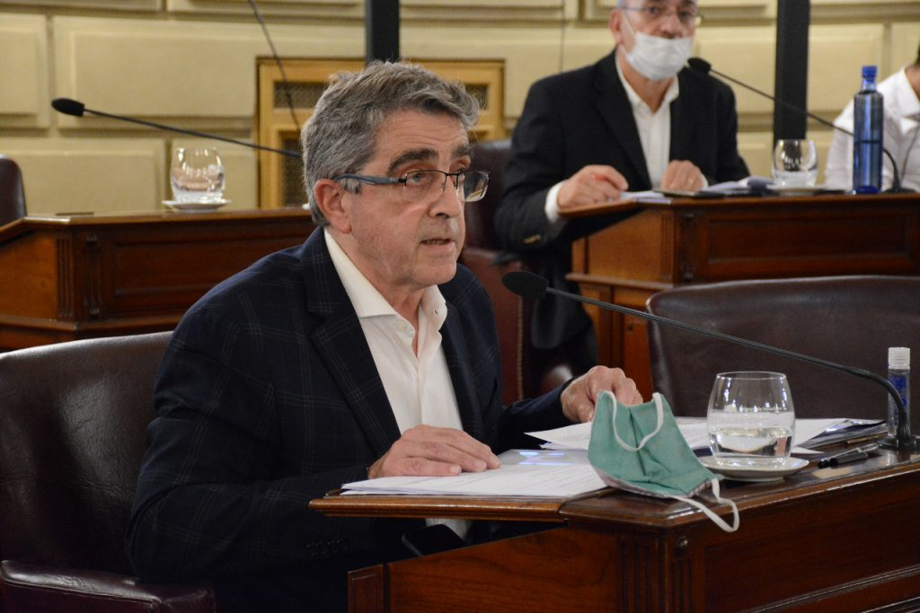 Traferri propone transformar en ley el Programa Incluir