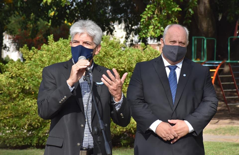 Baucero participo en las actividades por el 148 aniversario de Romang.