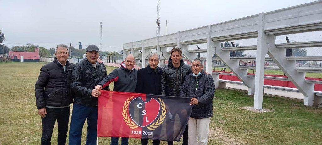 Gramajo agradece reconocimiento del Club San Lorenzo de Tostado