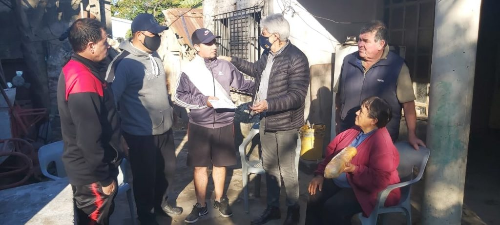 Romang: Baucero entrego aportes a instituciones