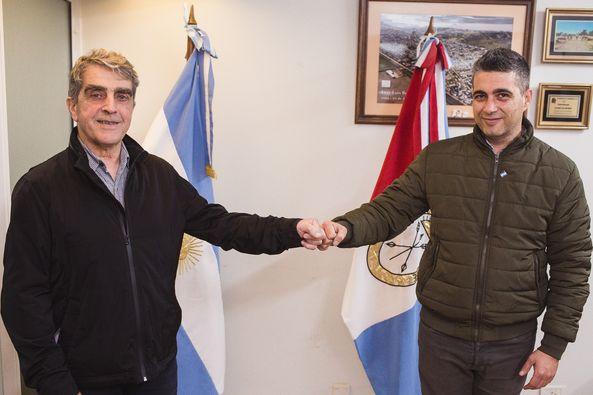 Traferri entregó aportes en Fray Luis Beltrán